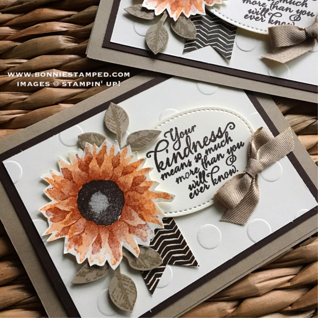 #paintedharvest #stamps #holidaycatalog #leafpunch #autumn #bonniestamped #stampinup