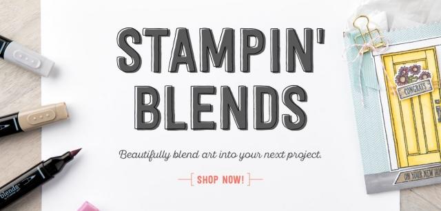 #stampinblends #bonniestamped #stampinup