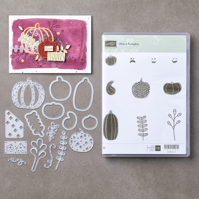 #pickapumpkin #bundle #stampinup #bonniestamped