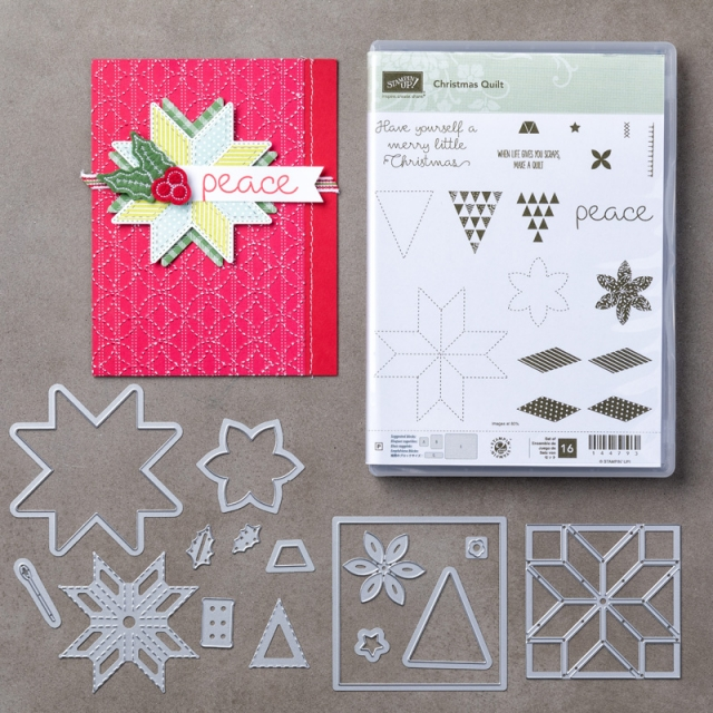 #christmasquilt #bundle #stampinup #bonniestamped