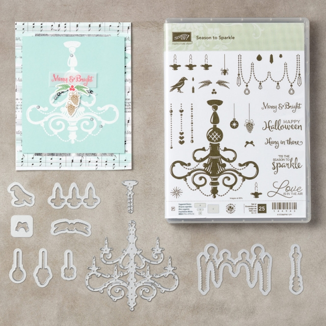#seasonofsparkle #bundle #stampinup #bonniestamped