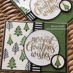 Aqua Painters with Watercolor Christmas Stamp Set