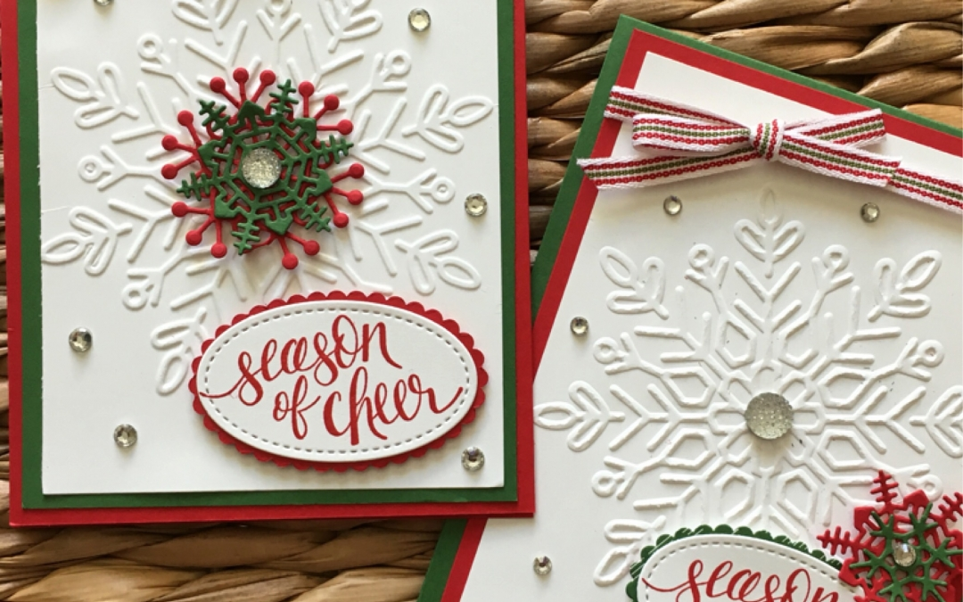 Winter Wonder Embossing Folder