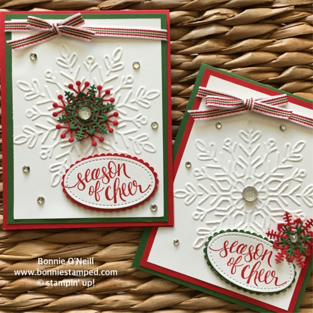 #winterwonder #embossingfolder #seasonallayers #bonniestamped #watercolorchristmas #stampinup