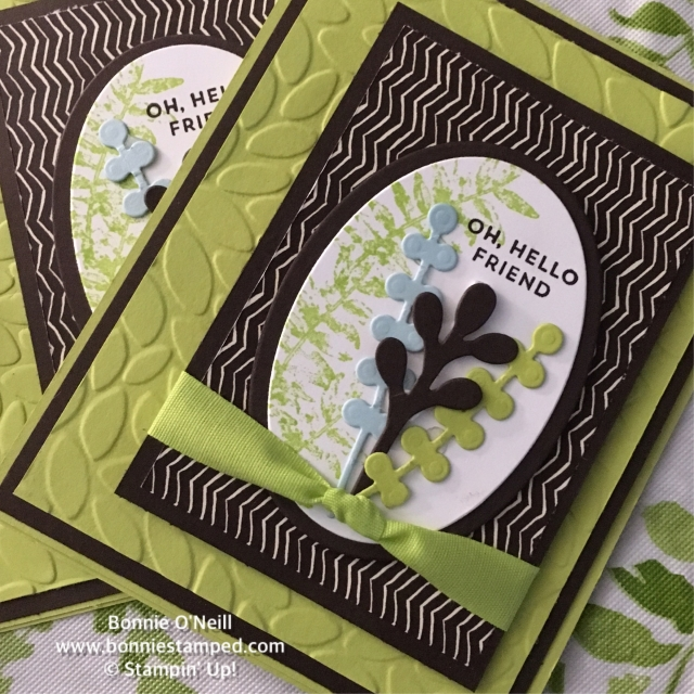 #paintedautumn #bonniestamped #stampinup