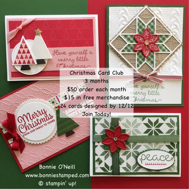 #christmascardclub #bonniestamped #chrismasquilt #bundle