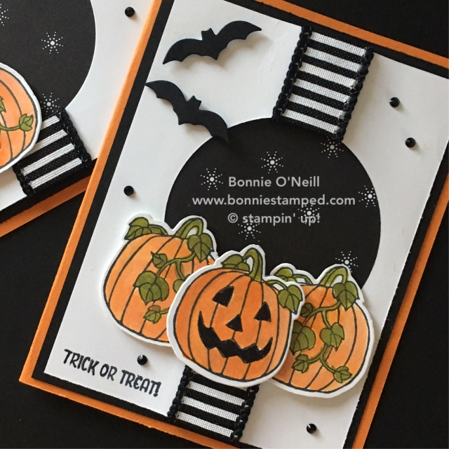 #seasonalchums #bundle #happyhalloween #bonniestamped #stampinup