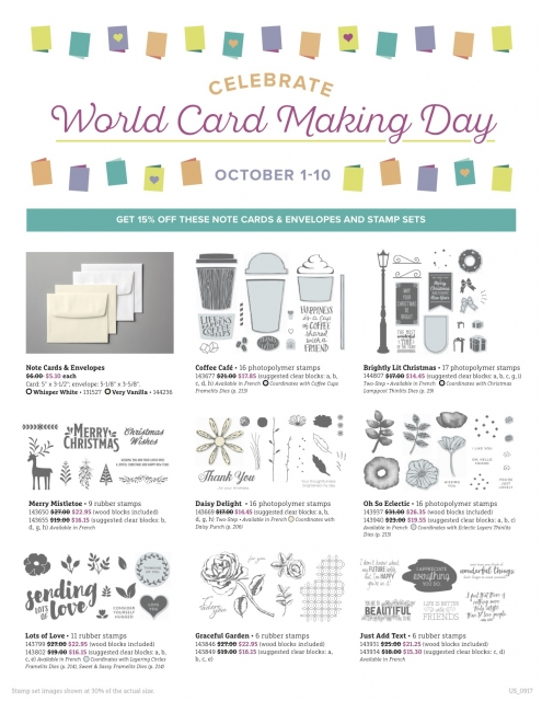 #worldcardmakingday #bonniestamped