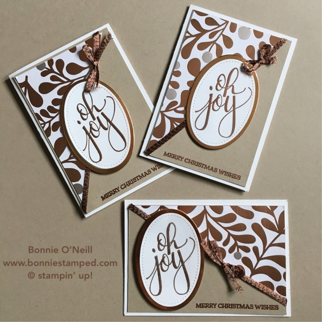 #ohjoy #copperfoil #bonniestamped #stampinup