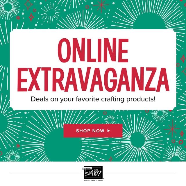 #onlineextravaganza #sale #bonniestamped #bonniestamped