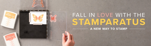 #stamparatus #stampinup #bonniestamped #newproduct