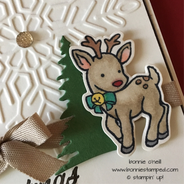 #seasonalchums #bundle #reindeer #bonniestamped #stampinup