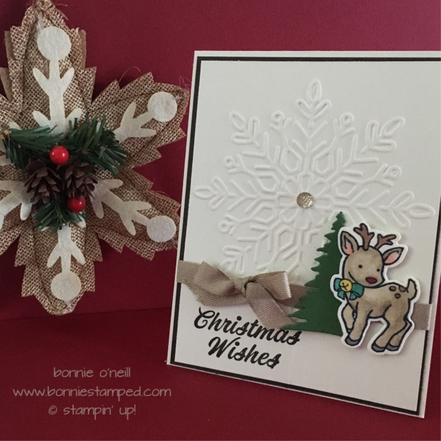 #seasonalchums #bundle #stampinup #bonniestamped