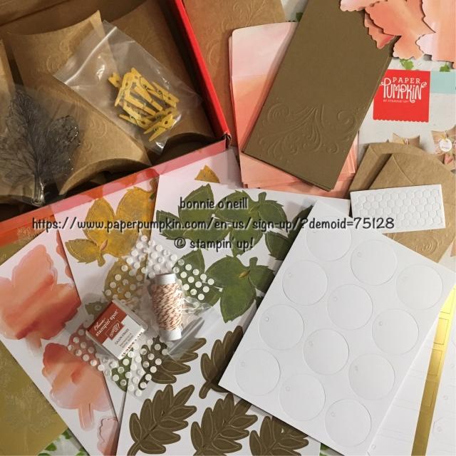 #paperpumpkin #stampinup #bonniestamped #monthlykits
