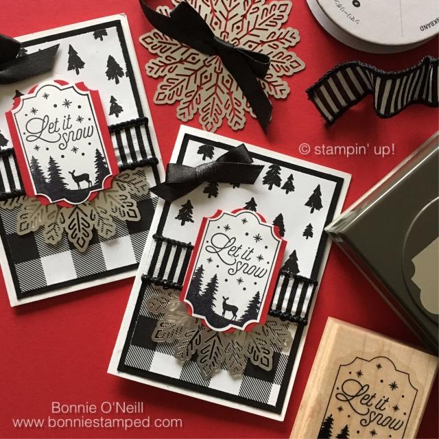 #merrylittlelabels #stamps #bonniestamped #stampinup #