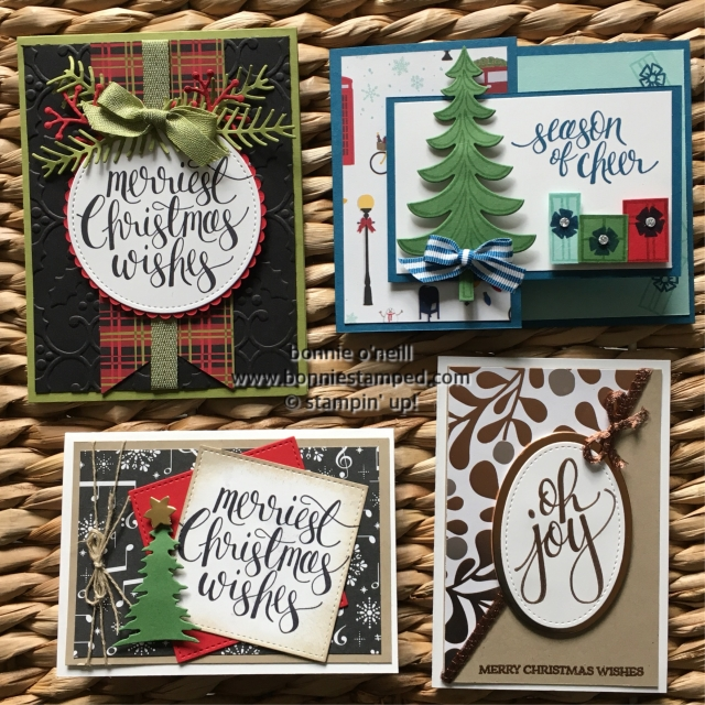 #christmascardclub #stampinup #bonniestamped