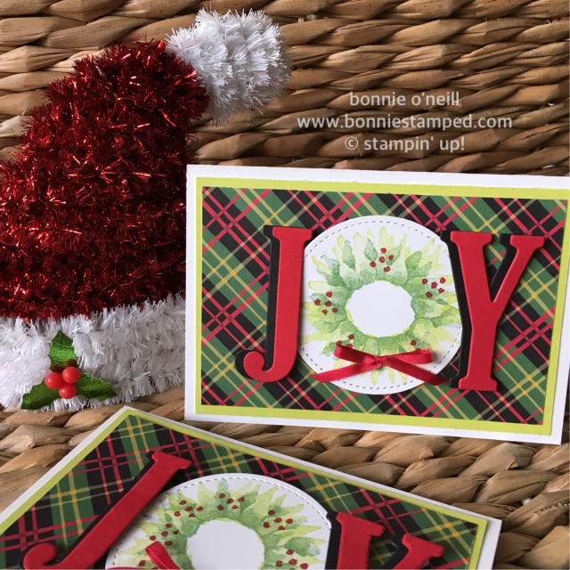 #holidaycards #stampastack #paintedharvest #joy #bonniestamped #stampinup