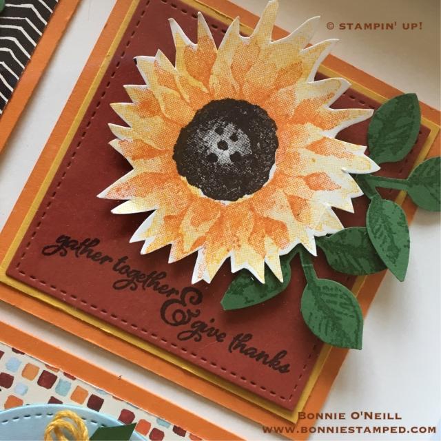 #paintedharvest #stampinjup ##bonniestamped #framedart