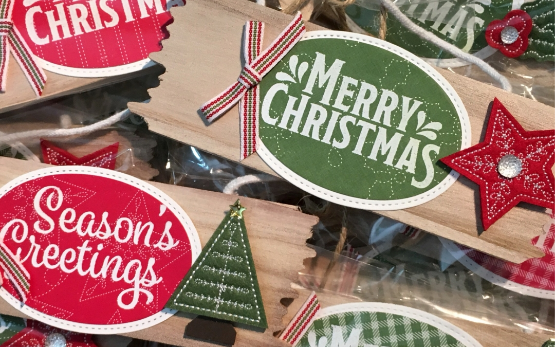 Homemade Quilted Christmas Ornaments