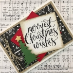 Merriest Christmas Wishes Note Card