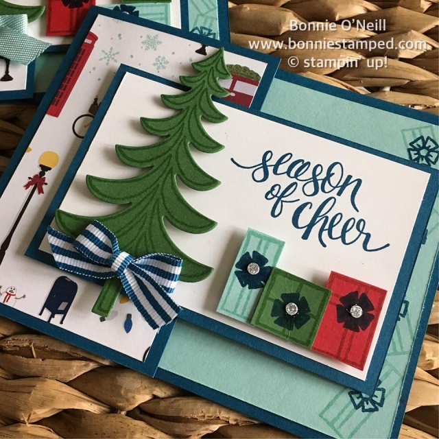 #watercolorchristmas #stampinup #bonniestamped