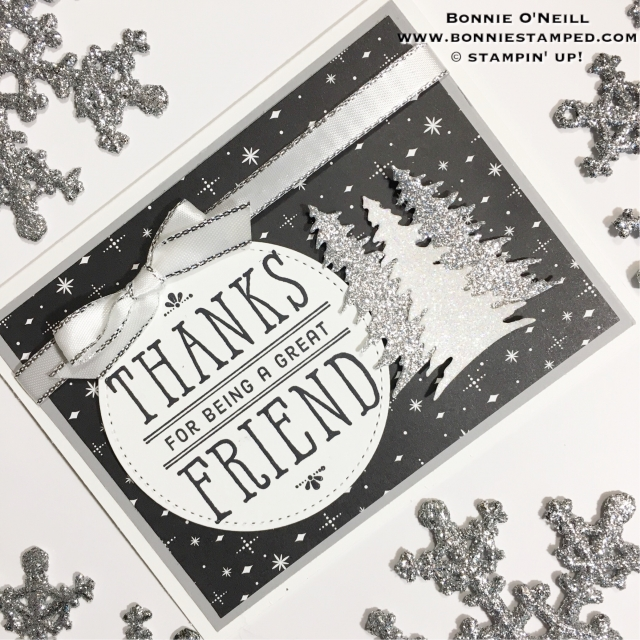 #stampersdozenbloghop #bonniestamped #holidaycards #friends