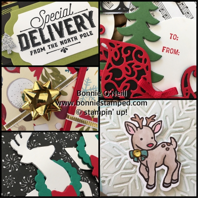 #holidaytags #bonniestamped #stampinup