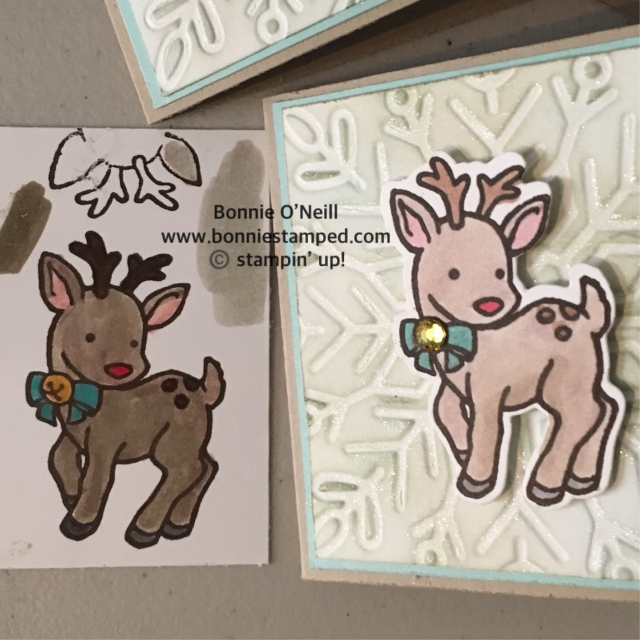 #stampinblends # seasonalchums #bonniestamped #holidaygifttags #stampinup