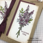 Sale-a-bration Lots of Lavender Stamp Set