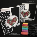 NEW Heart Happiness Stamp Set