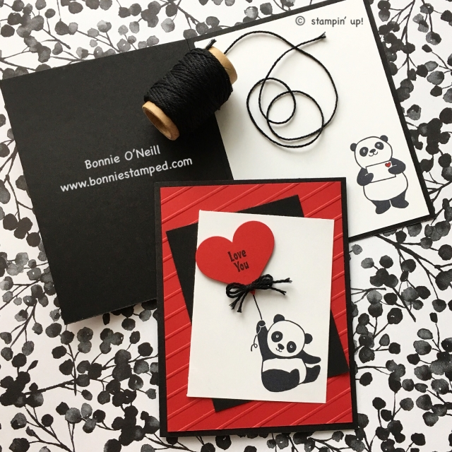 #partypandas #saleabration #love #bonniestamped #stampinup