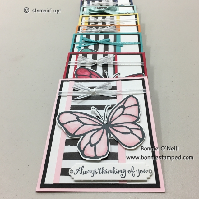 #stampinblends #beautifulday #bonniestamped #stampinup