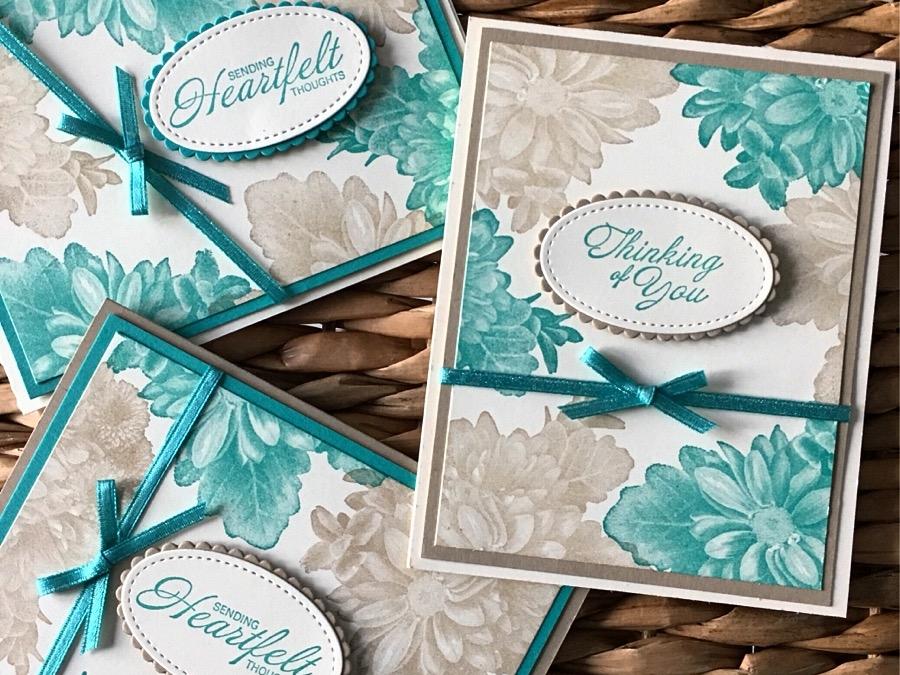 Heartfelt Blooms Stamp Set from Sale-a-bration 2018