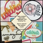 Bonnie's Sale-a-bration Card Club!