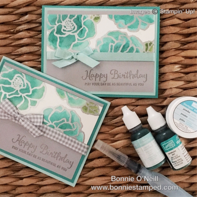 #bonniestamped #beautifulday #stampinup #occasions2018