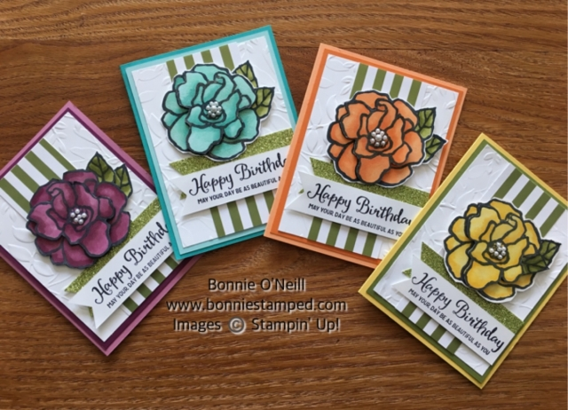 #bonniestamped #stampinup #productbased #beautifulday #occasions 2018