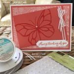 Clear Embossing with Beautiful Day Butterfly