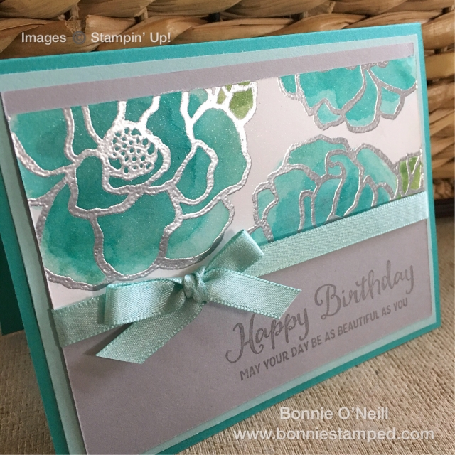 #beautifulday #reinkers #bonniestamped #stampinup