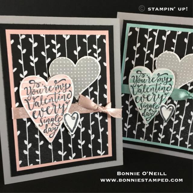 #valentinesday #petalpassion #suredoloveyou #bonniestamped #stampinup
