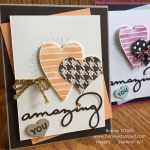 Amazing You Stamp Set with Heart Happiness