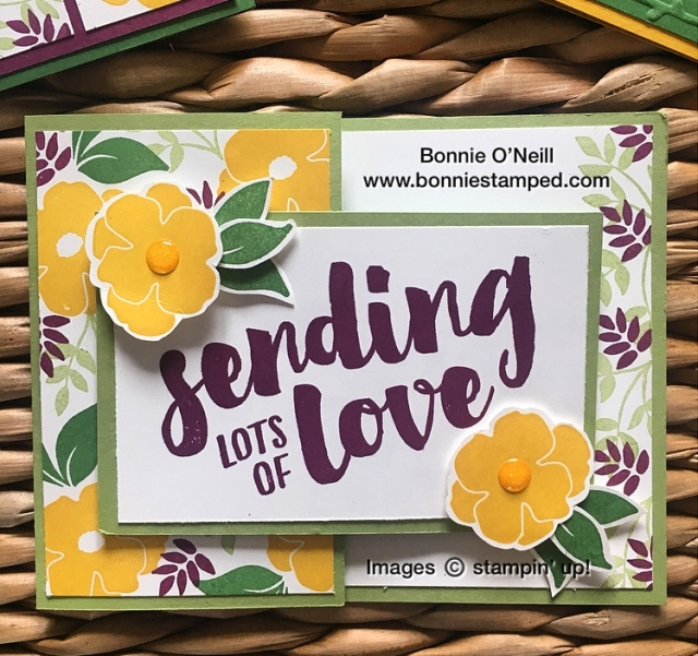 #lotsoflove #bonniestamped #stampinup #bloghop #colorfusers