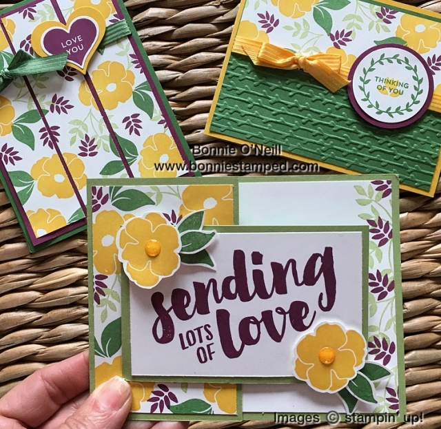#colorfusers #bonniestamped #bloghop #march2018 #stampinup