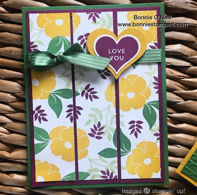 #colorfusers #bloghop #bonniestamped #stampinup
