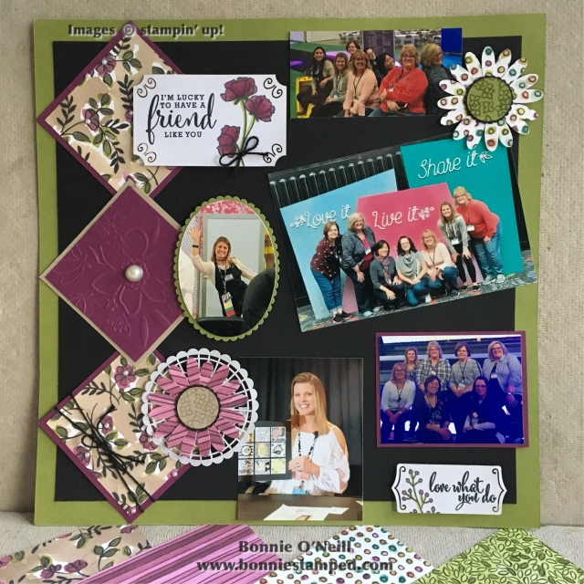#bloghop #eventscouncil #bonniestamped #stampinup