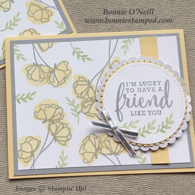 #onstage2018 #bonniestamped #cardswap #stampinup30 #stampinup #lovewhatyoudo