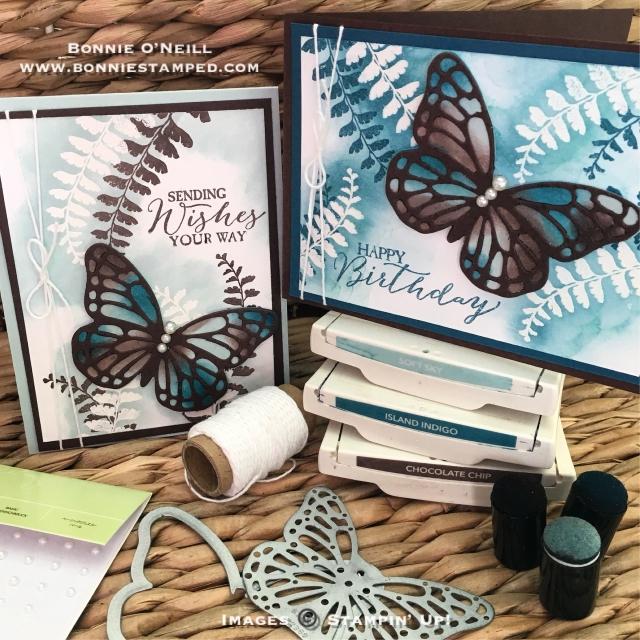#boldbutterfly #butterfliesthinlits #butterflybasics #bonniestamped