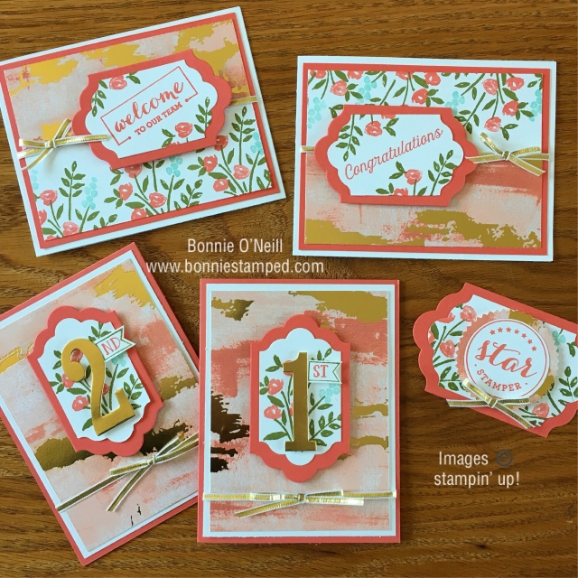 #paintedwithlovedsp #numberofyears #bonniestamped #stampinup