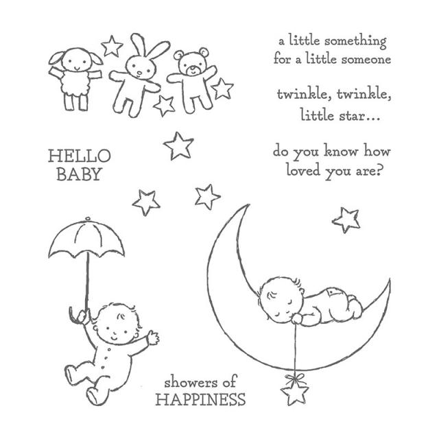 #moonbaby #stampinup