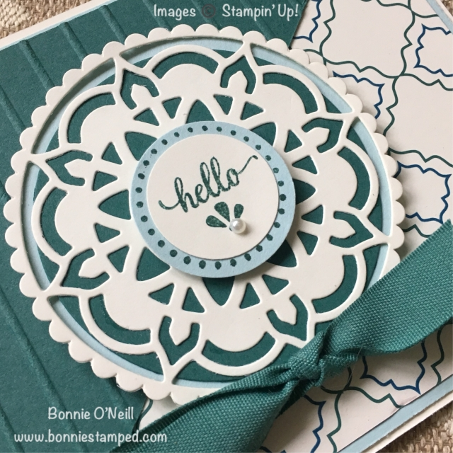 #easternbeauty #easternmedallions #easternpalacesuite #bonniestamped #stampinup