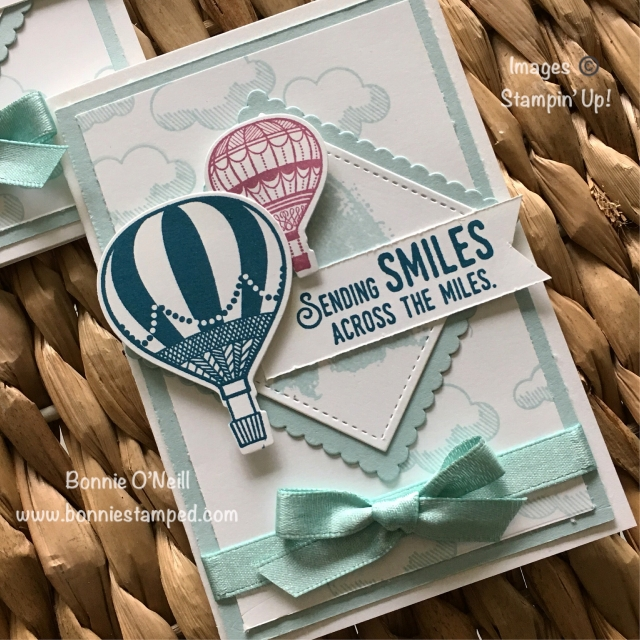 #retiringcolors #stampinup #bonniestamped #cardclub #youliftmeup
